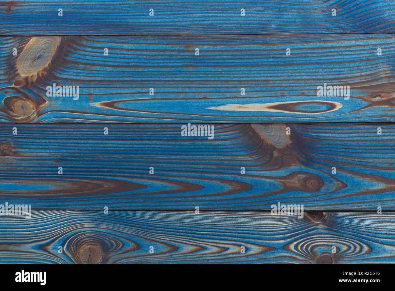 Vintage verniciato blu rustico in legno vecchio tavole orizzontali texture  di muro di sfondo. Sbiadita 0b1c989ebc4b