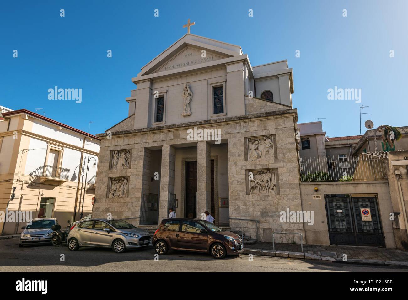 Reggio Calabria, Italia - 30 Ottobre 2017: il santo Rosario