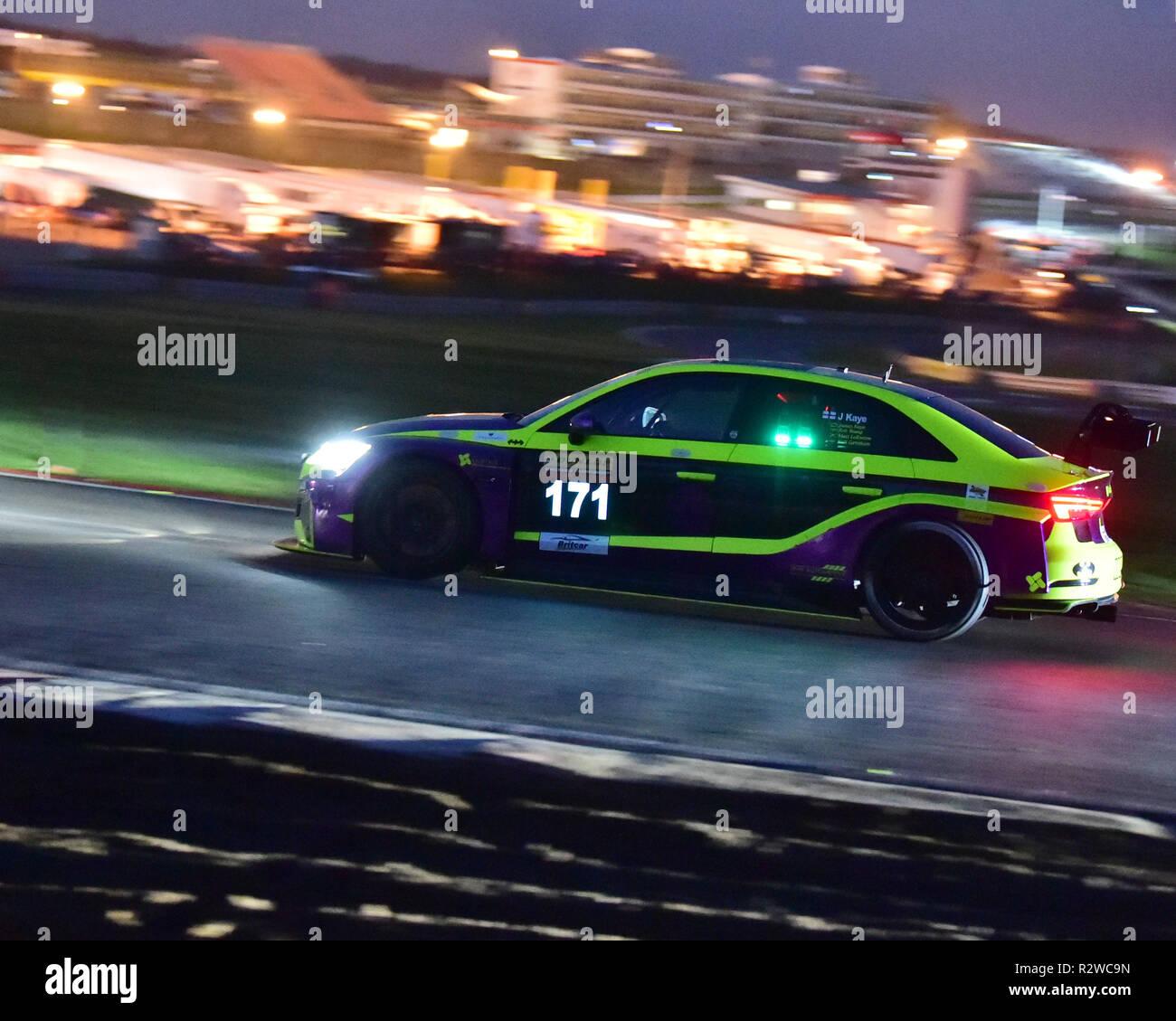 Matt Le Breton James Kaye Audi Rs3 Tcr Gara Notturna Britcar