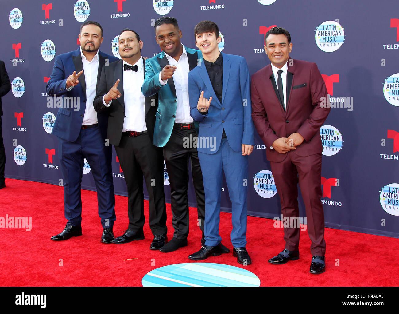 Latin American Music Awards 2018 tenutosi presso il Dolby Theatre di Los Angeles, California. Dotato di: T3r Elemento dove: Los Angeles, California, Stati Uniti quando: 25 Ott 2018 Credit: Adriana M. Barraza/WENN.com Immagini Stock