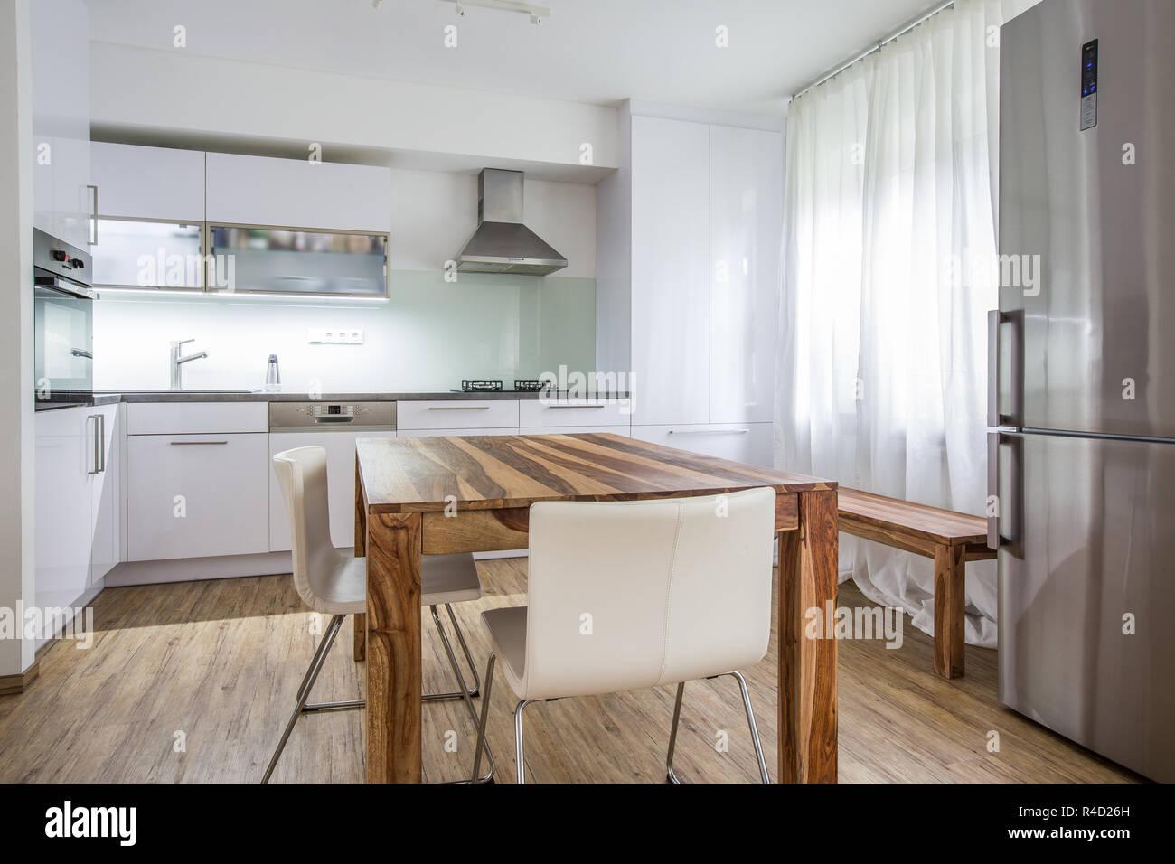 Cucina Moderna Interior Design Architettura Magazzino L Immagine La