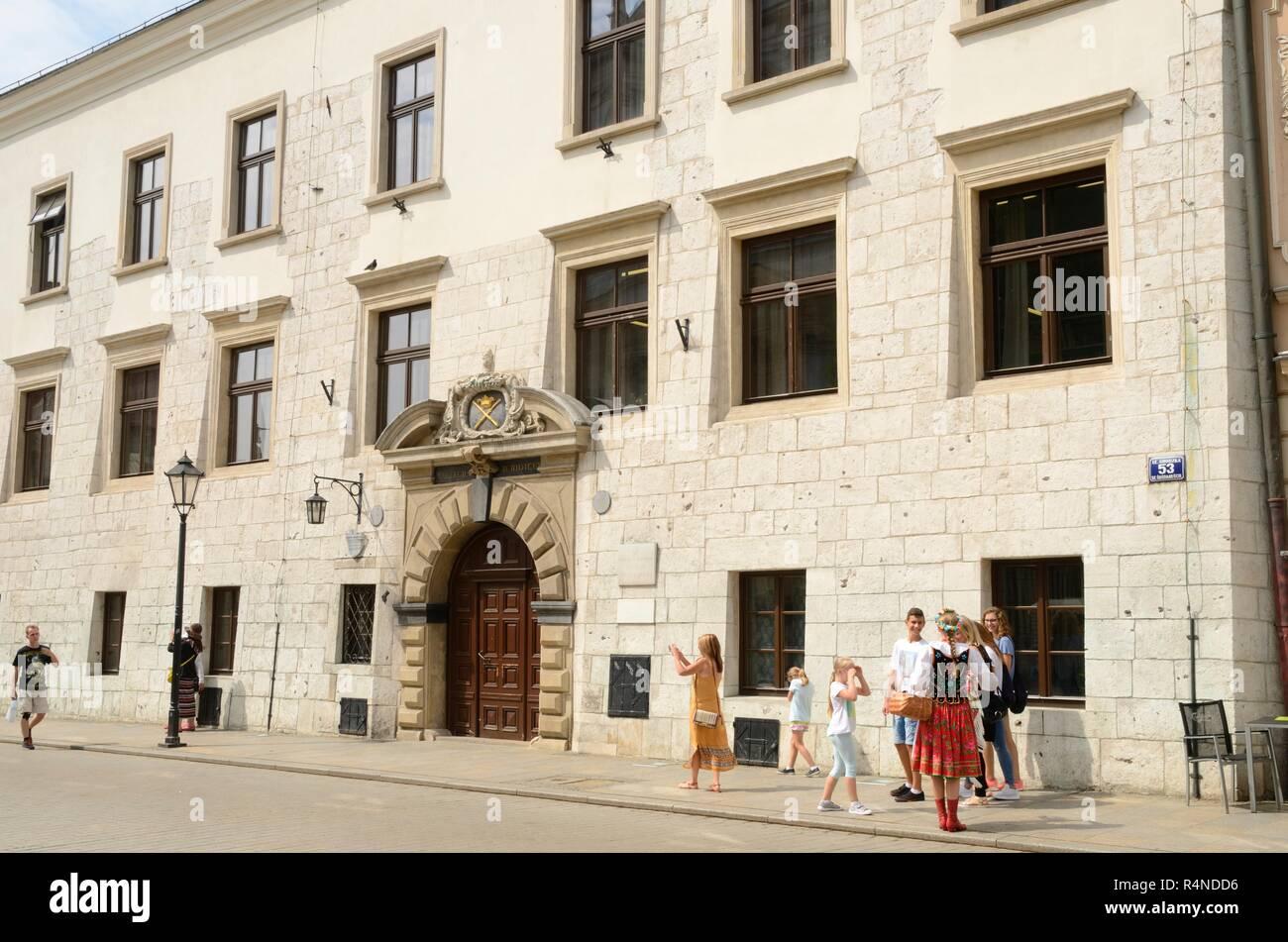 Cracovia in Polonia - Luglio 27 54bf4f7f007