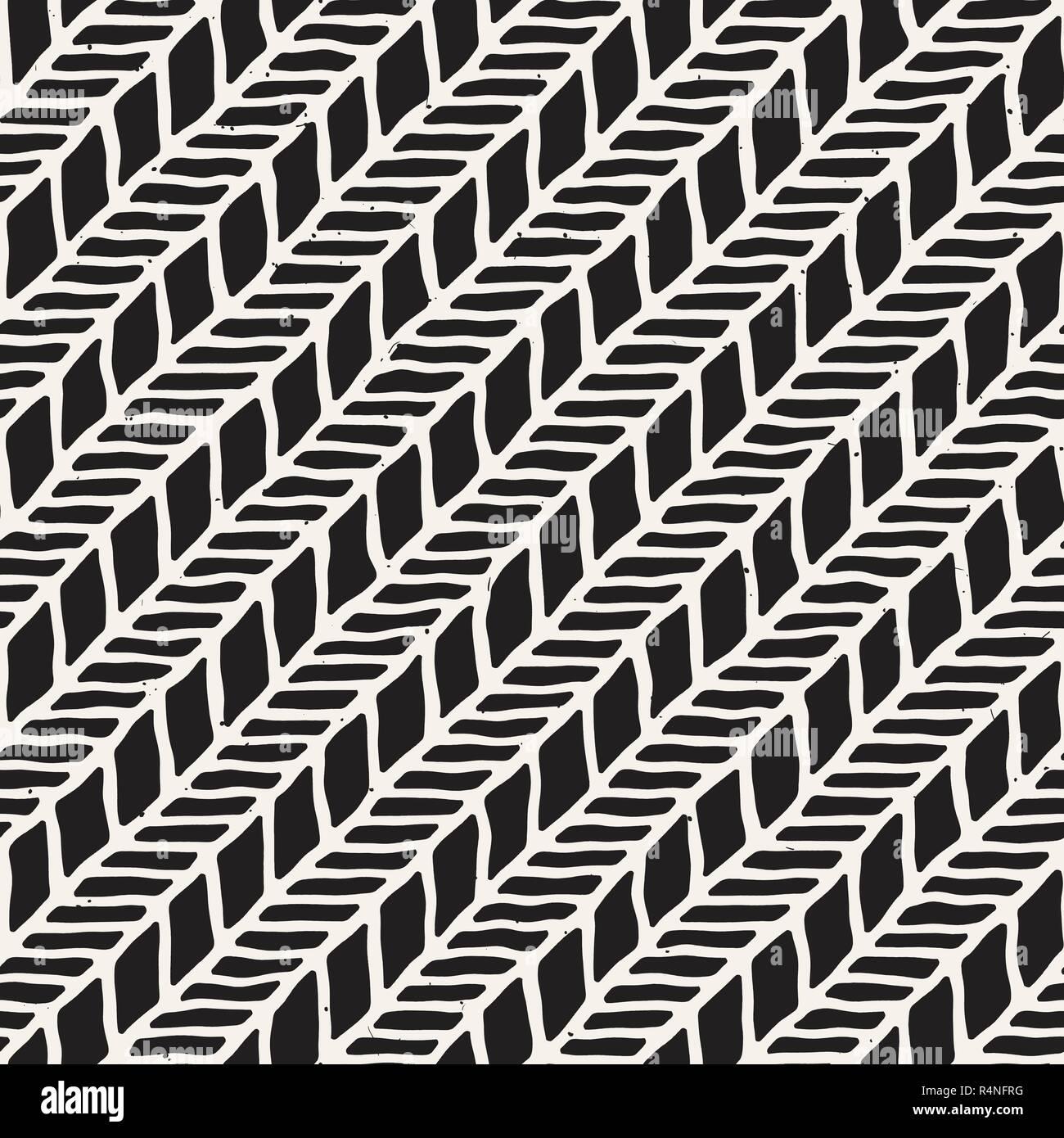 Disegni Geometrici Bianco E Nero inchiostro semplice disegno geometrico. monocromatici in