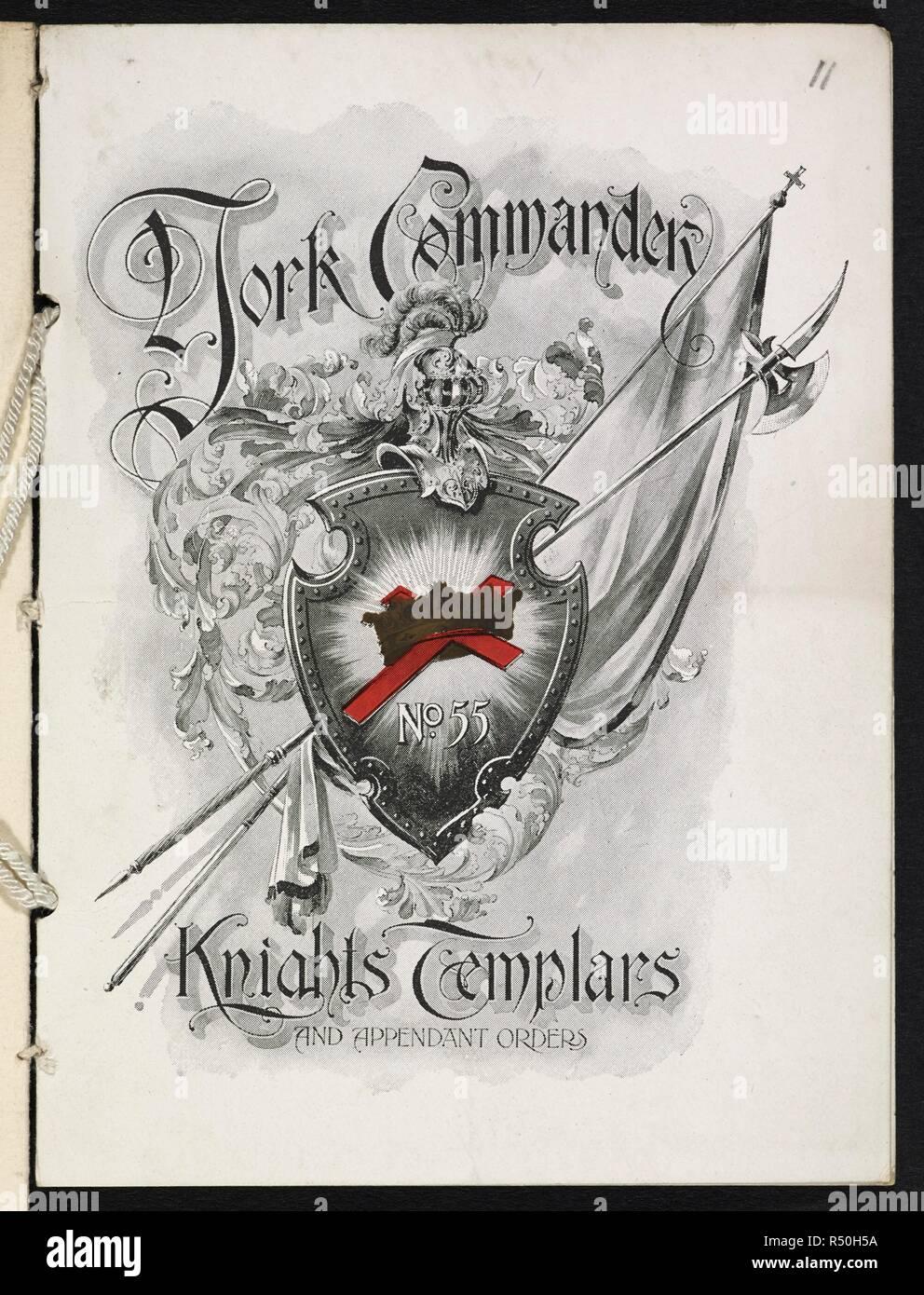 Coperchio anteriore di un opuscolo con il titolo : York