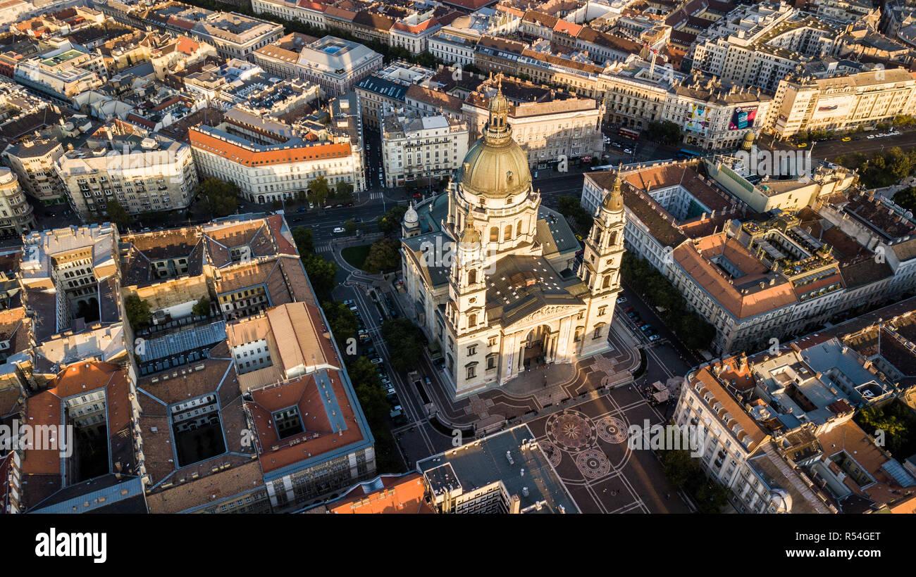 La Basilica di Santo Stefano Szent István Bazilika, Budapest, Ungheria Foto Stock