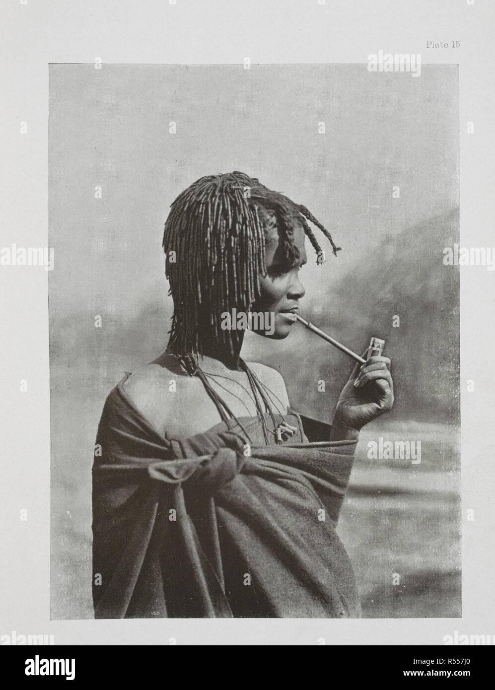 Una ragazza Pondo. . L'essenziale Kafir ... Con un centinaio di full-page illustrazioni dall'autore. Londra : Adam & Charles Black, 1904. Fonte: 10096.h.20 della piastra 15. Autore: Kidd, Dudley. Immagini Stock
