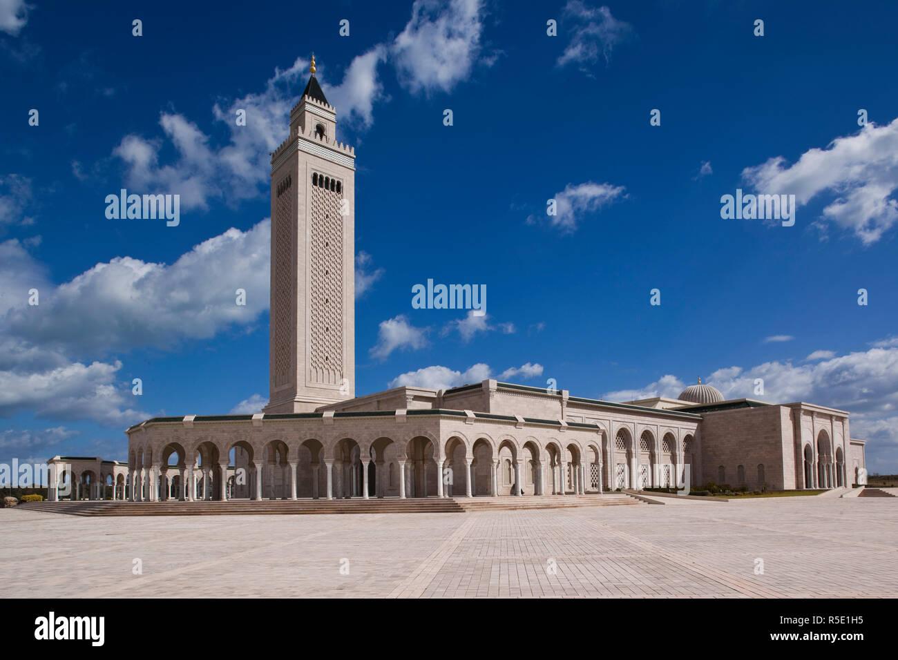 La Tunisia, Tunisi, Cartagine, Moschea del Abedine Immagini Stock