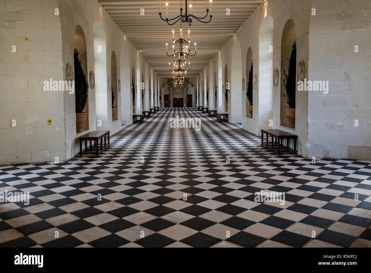 Chateau Chenonceau Gallery Immagini e Fotos Stock - Alamy