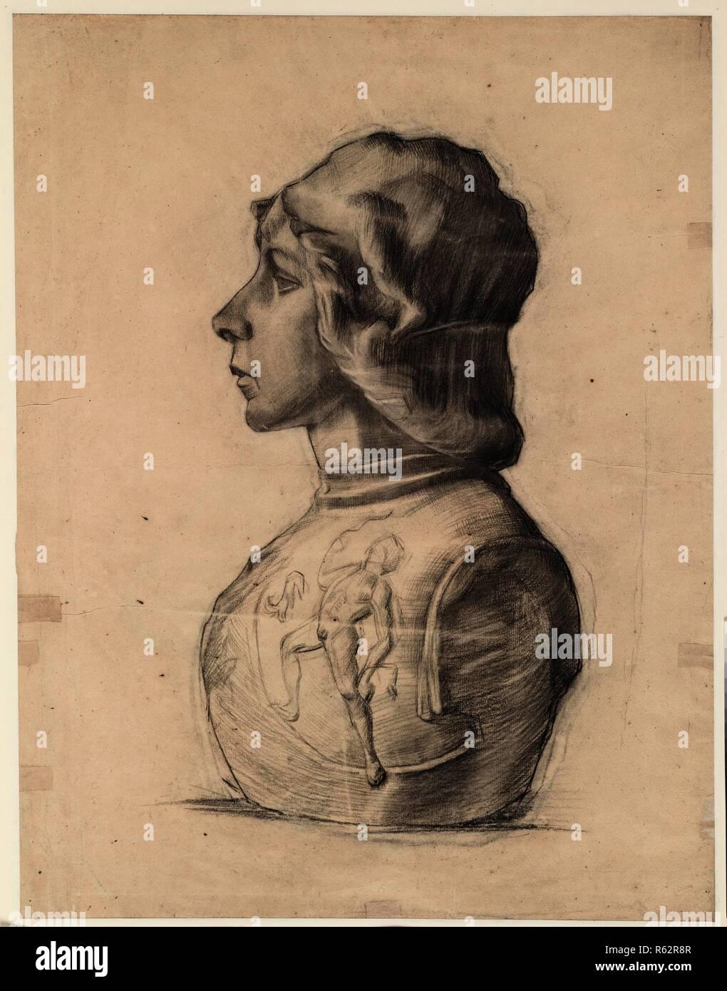 9abf8f84a Busto di un giovane guerriero. Data  marzo-maggio 1886