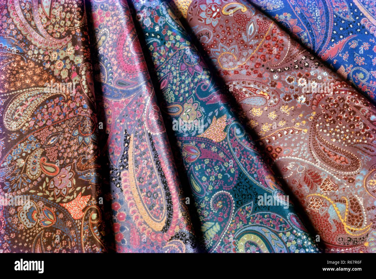 Il design tessile Immagini Stock