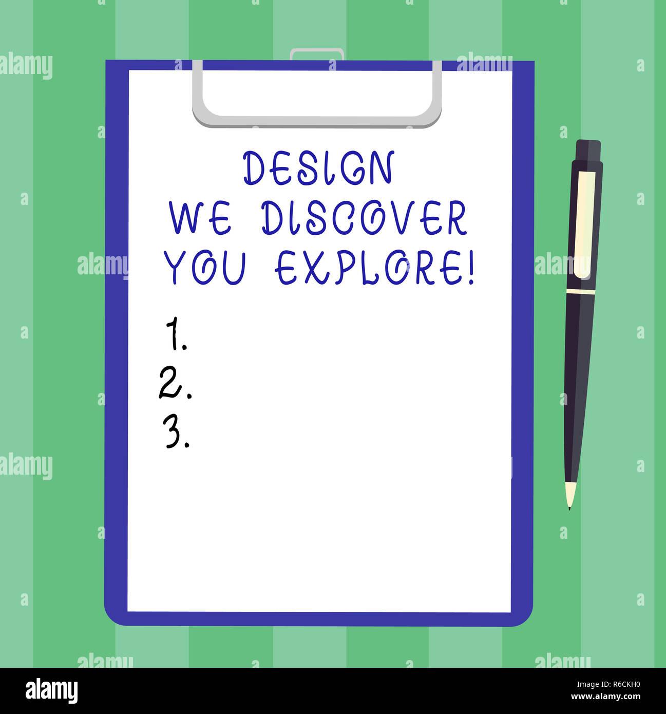 Cose Creative Con La Carta testo della scrittura design ci scopre di esplorare