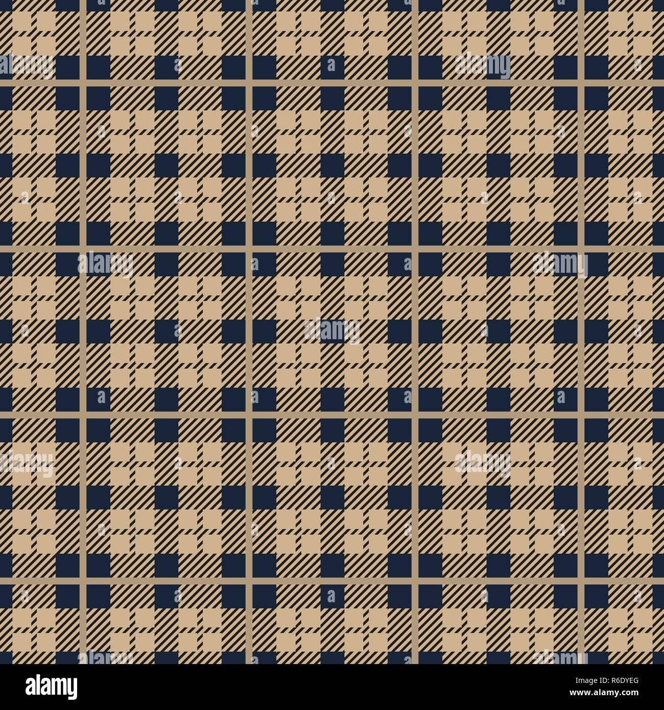 In Tartan Pattern Seamless Sfondo Rosso Nero Blu Beige Verde E