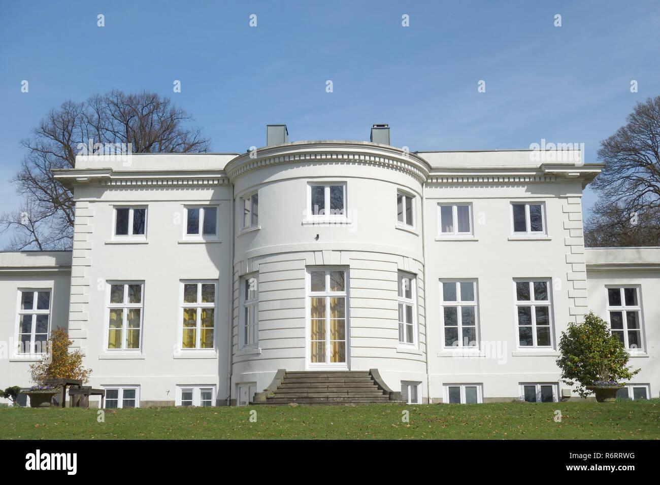 Villa j. c. godeffroy in Hamburg nienstedten Foto Stock