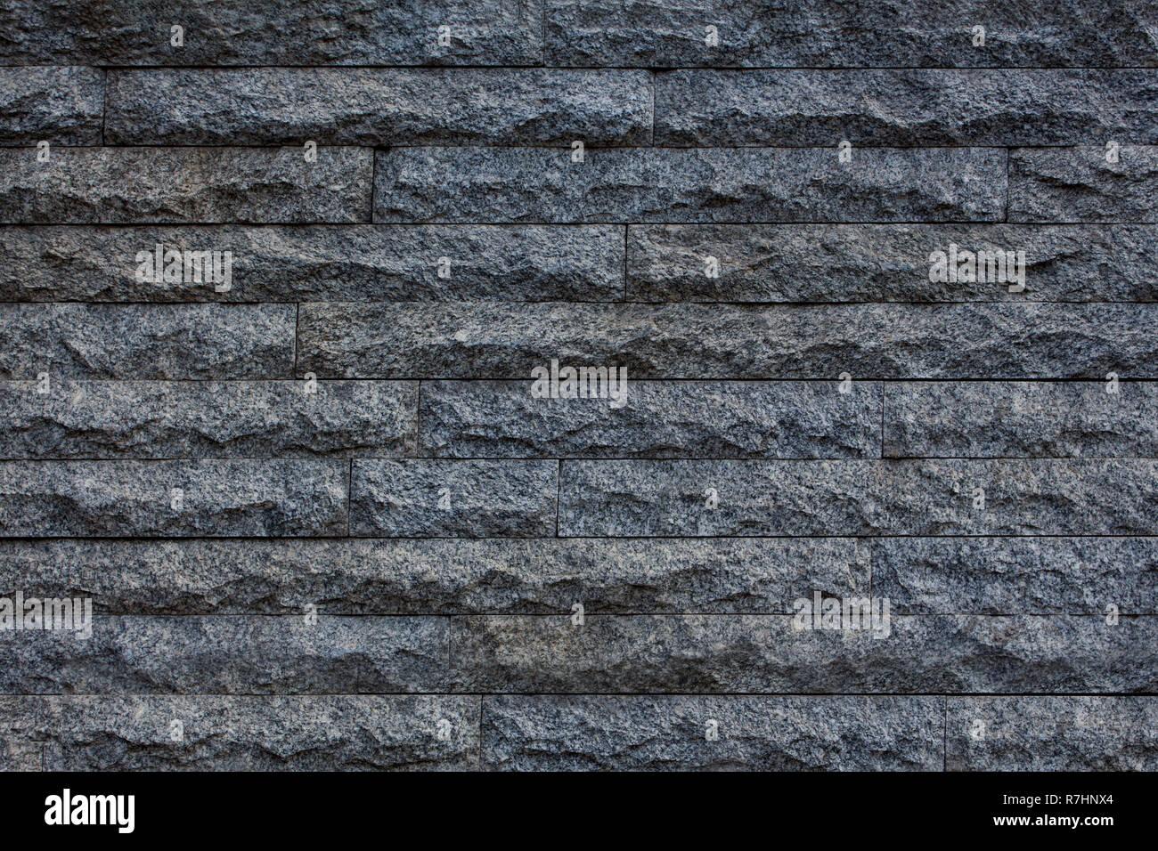 Muro di mattoni beige. Immagini Stock