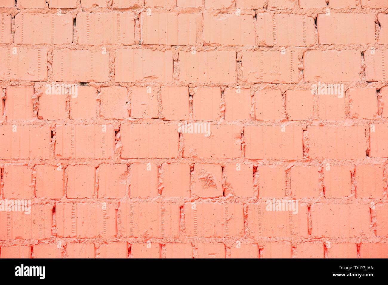 Dipinto Di Un Muro Di Mattoni Colore Alla Moda Background Urbano