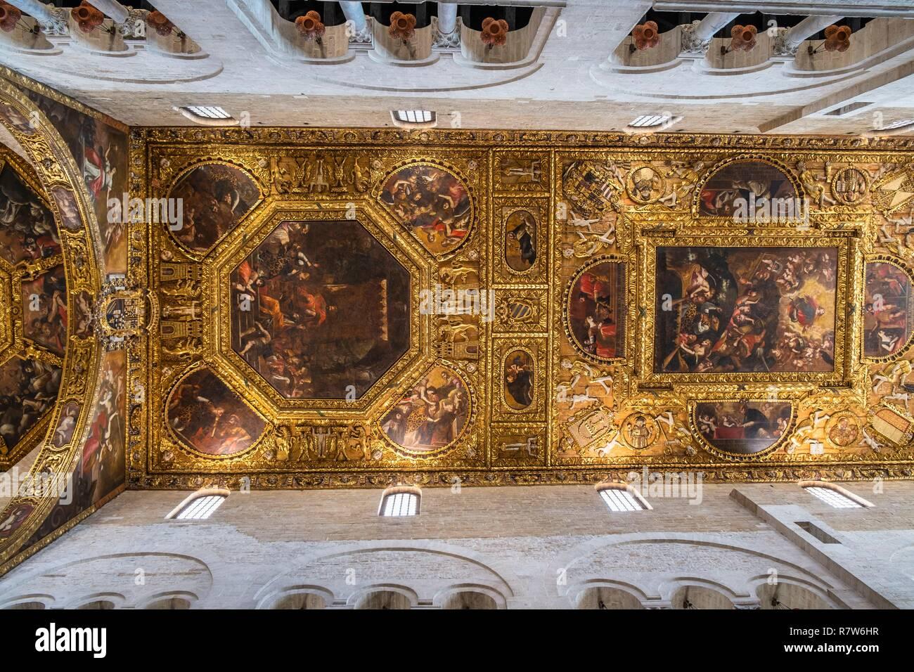 Soffitto a cassettoni decorato immagini soffitto a cassettoni