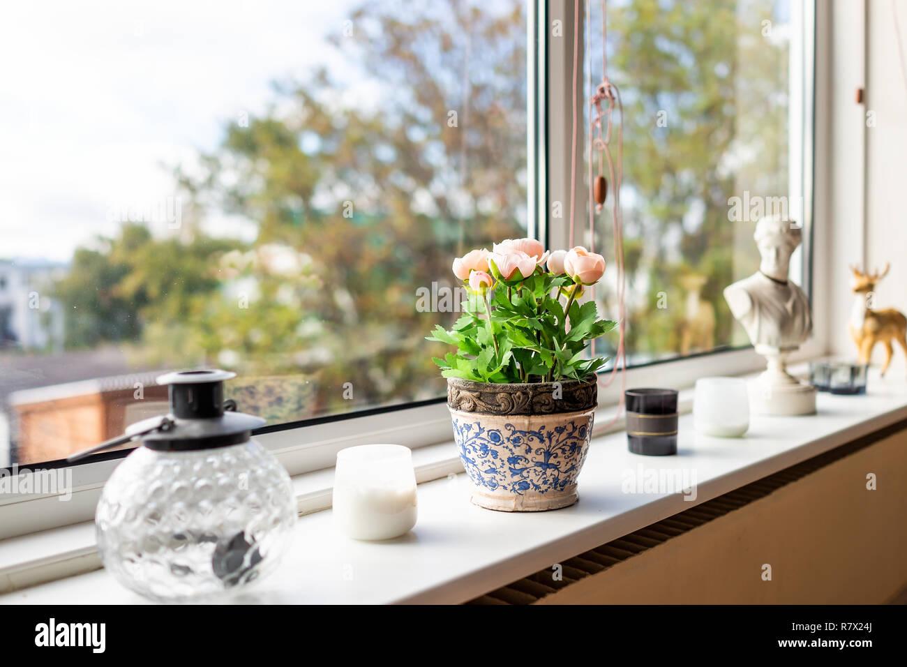 Casa moderna cucina soggiorno decorazioni per finestre con ...