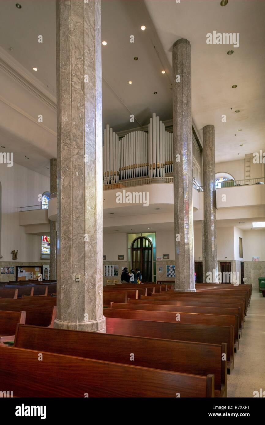 Canada, Provincia di Quebec, Montreal, patrimonio religioso, la Chiesa di Nostra Signora delle Grazie Immagini Stock