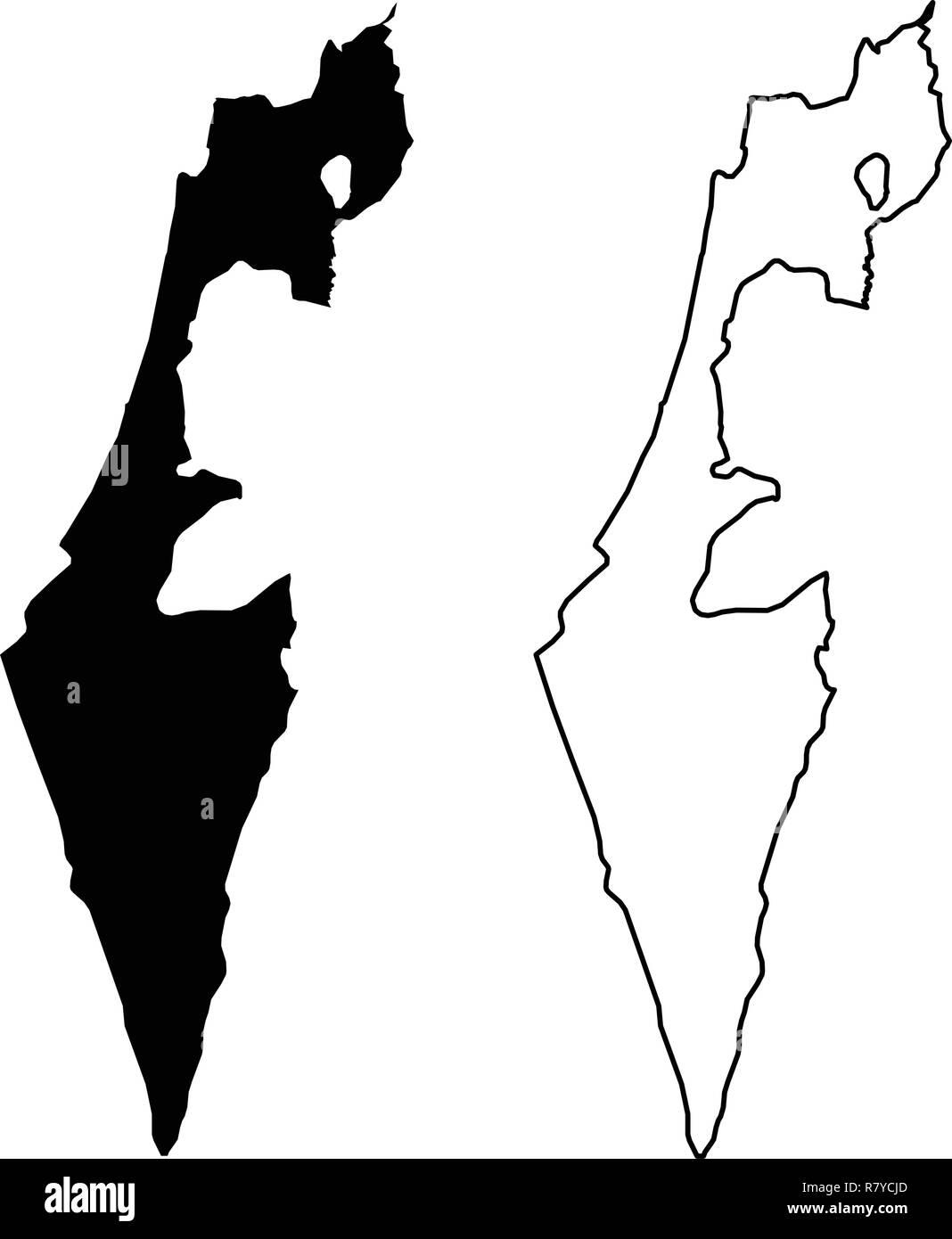 Stato Di Israele Cartina Fisica.Mappa Di Gaza Immagini E Fotos Stock Alamy