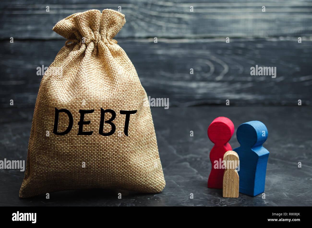 Datando un uomo con un sacco di debito