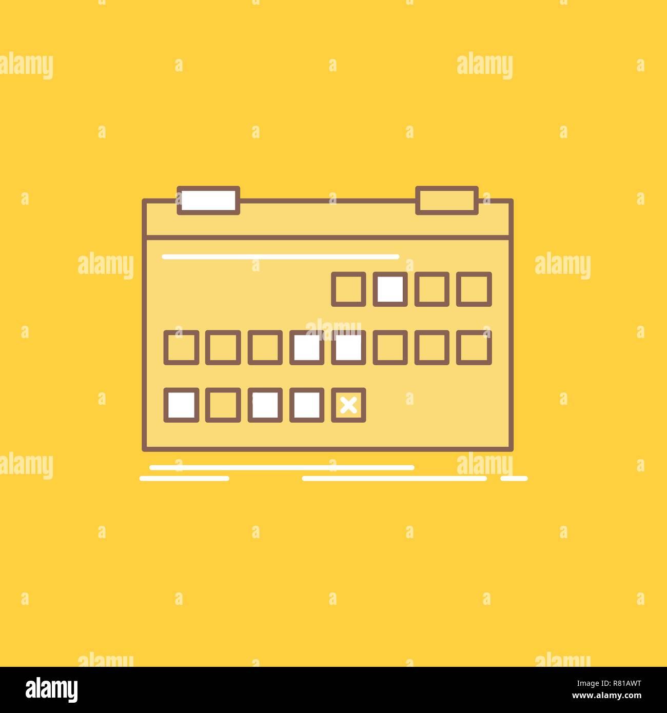 Calendario Per Sito Web.Calendario Data Evento Release Pianificare In Linea Piana