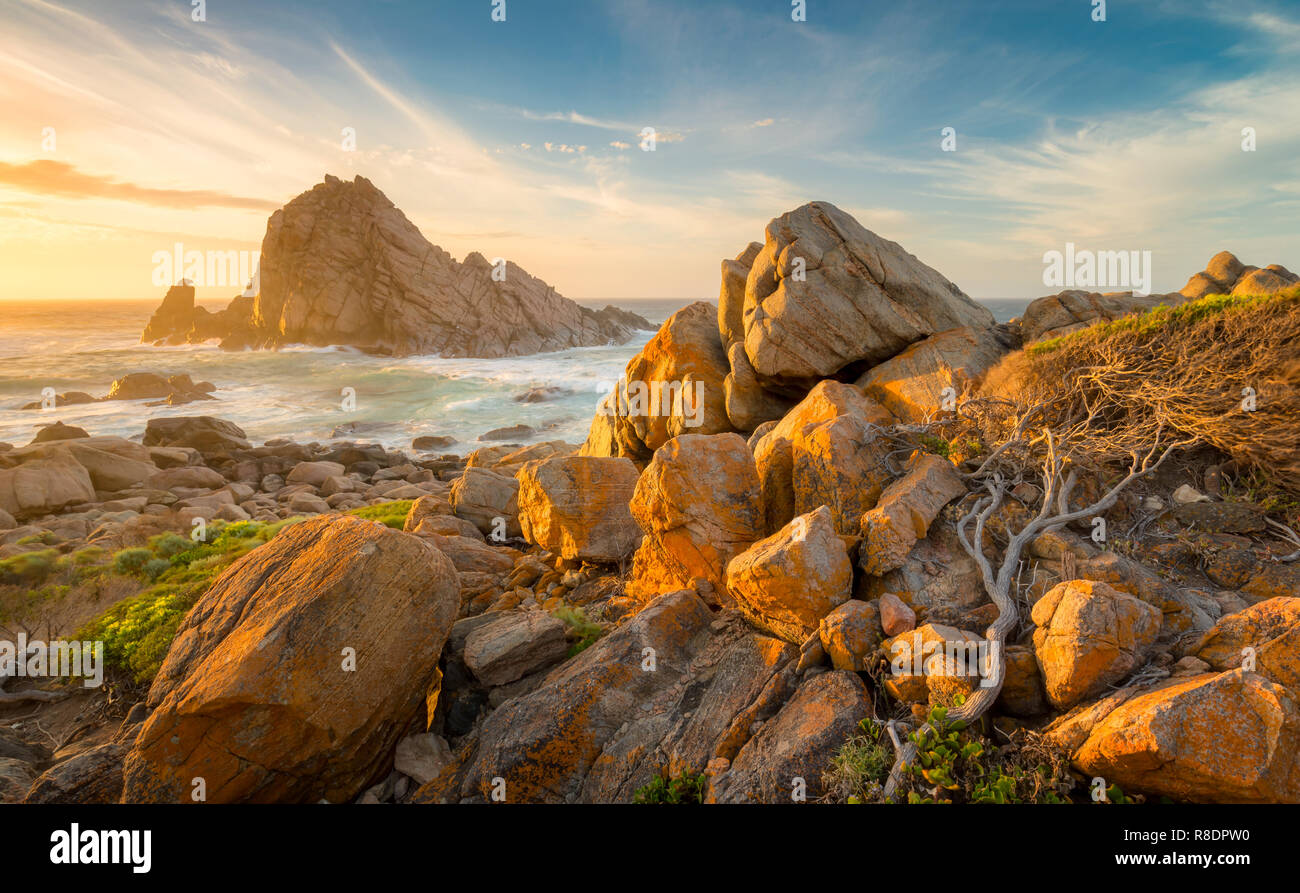 Sugarloaf Rock, Australia occidentale Immagini Stock