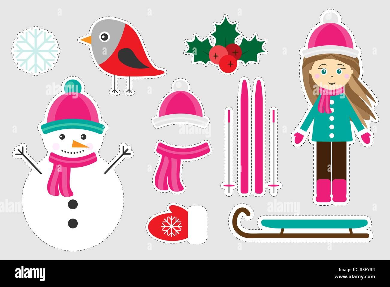 Immagini Di Natale Per Bambini Colorate.Colorate Differenti Inverno Foto Di Natale Per I Bambini