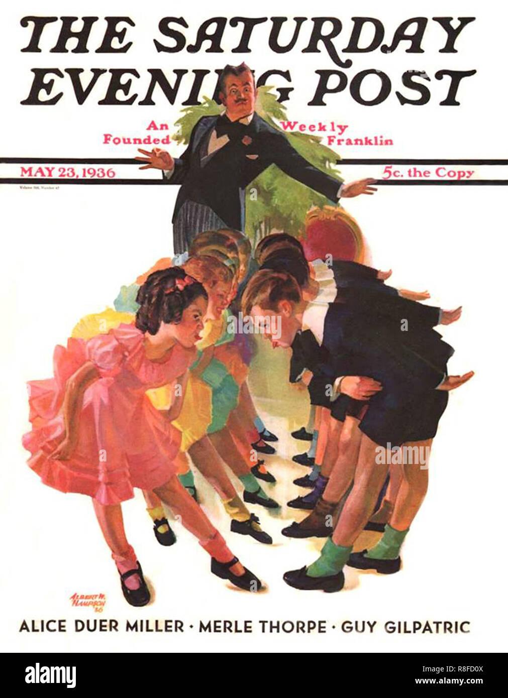 Vintage copertina del libro Immagini Stock