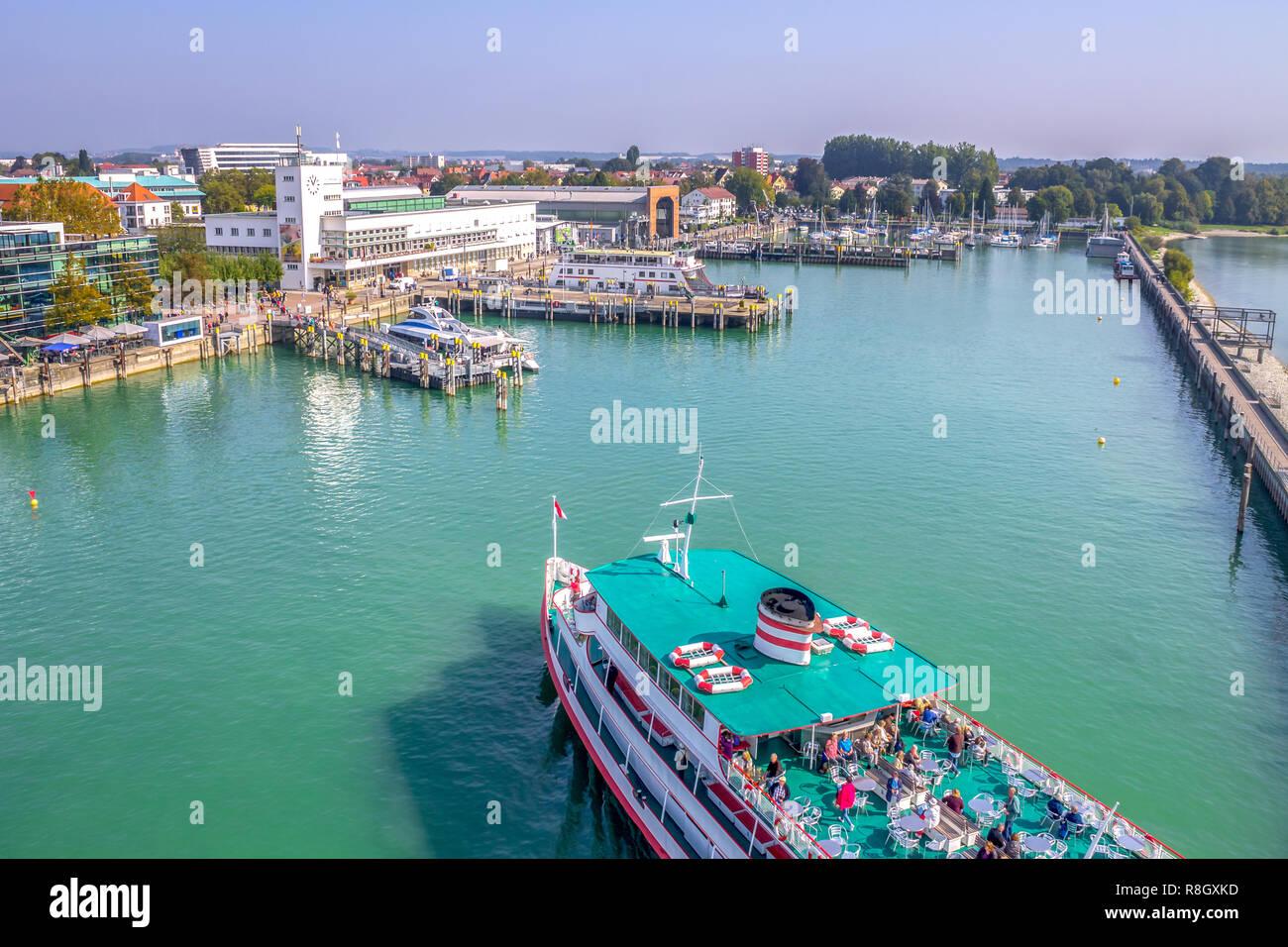 Lago Di Costanza Germania Cartina.Friedrichshafen Il Lago Di Costanza Germania Foto Stock Alamy