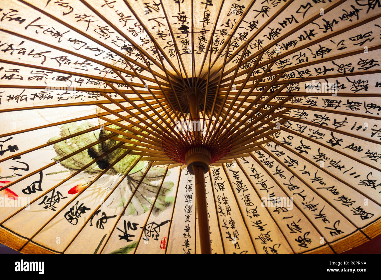 Gli ombrelli di Taiwan Immagini Stock