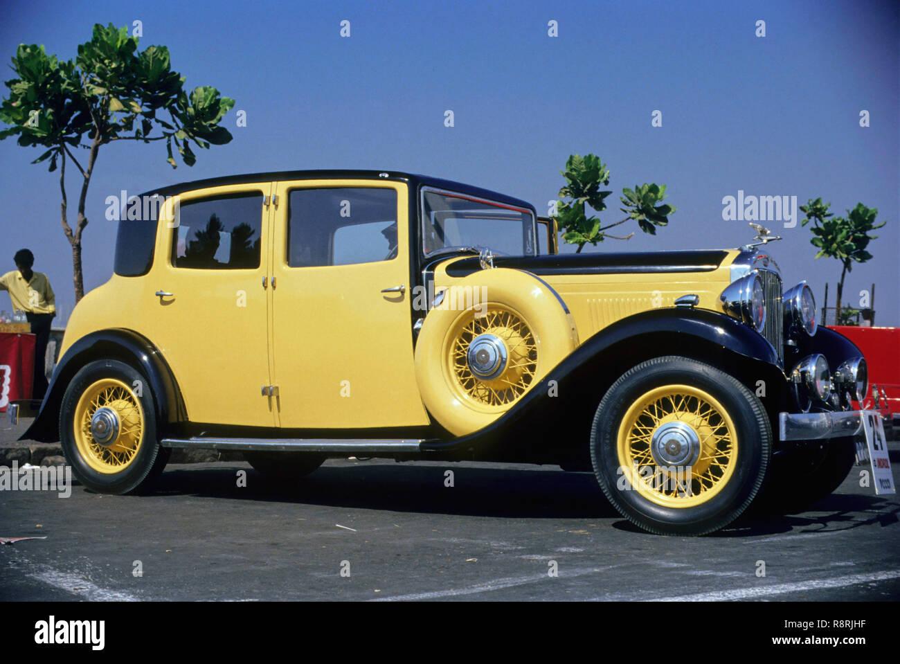 Veicoli automobili, Indrol auto d'epoca, Fiesta, Humber 1932, Auto sportiva Immagini Stock