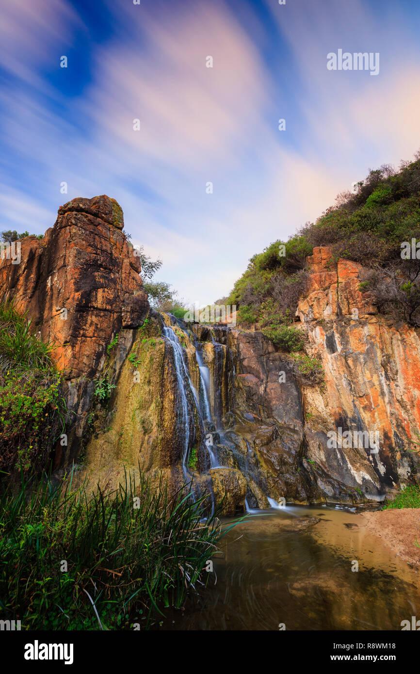 Quinninup Falls, Margaret River Immagini Stock