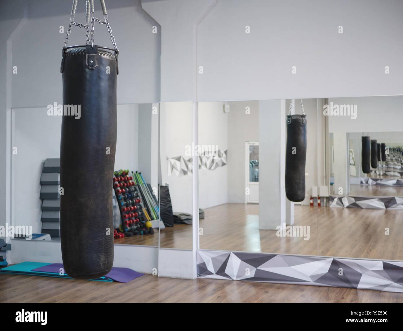 Specchi Per Palestra On Line sacco da boxe appesi in fight club palestra fitness con