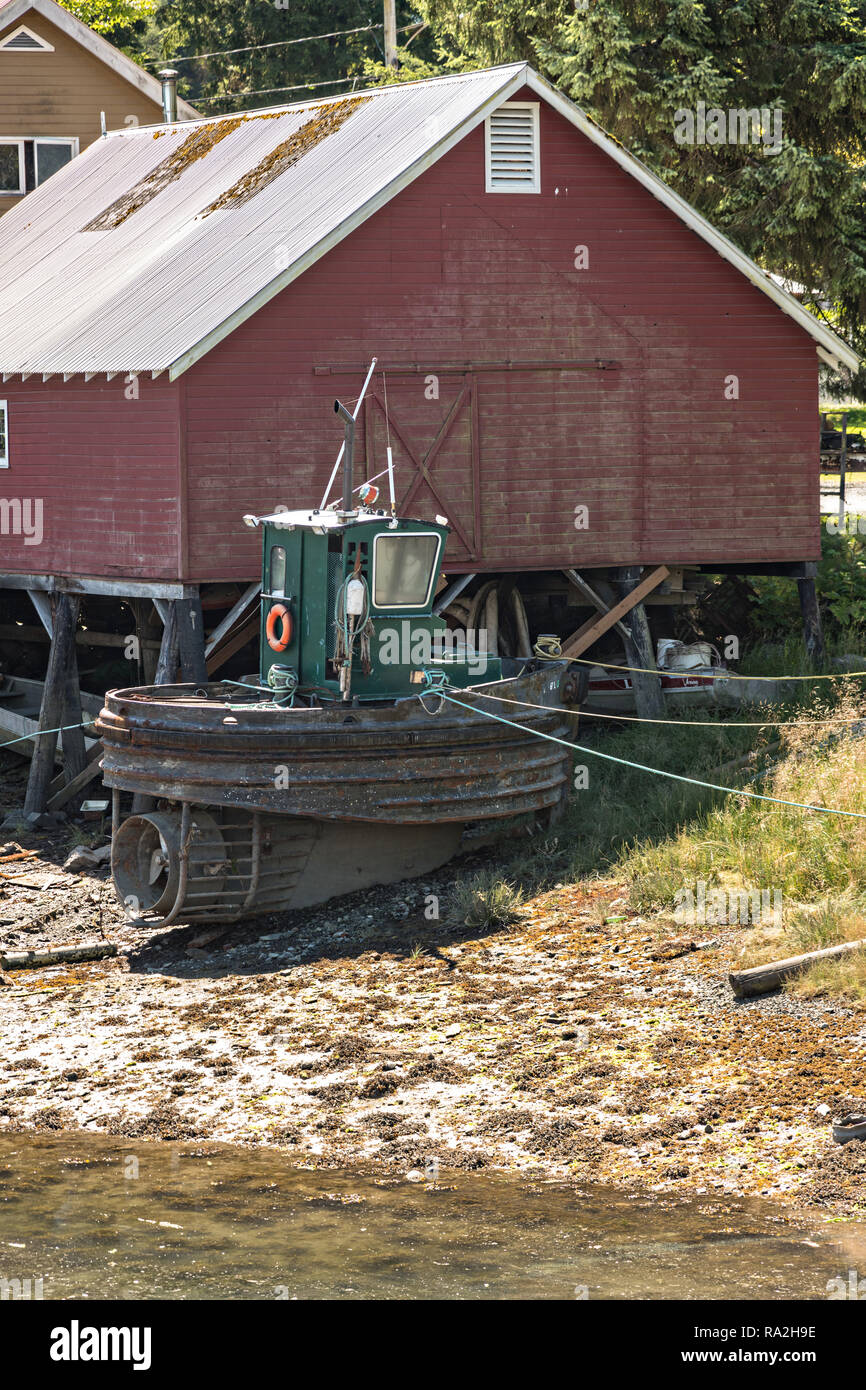 Wooden Tugboat Immagini Wooden Tugboat Fotos Stock Alamy