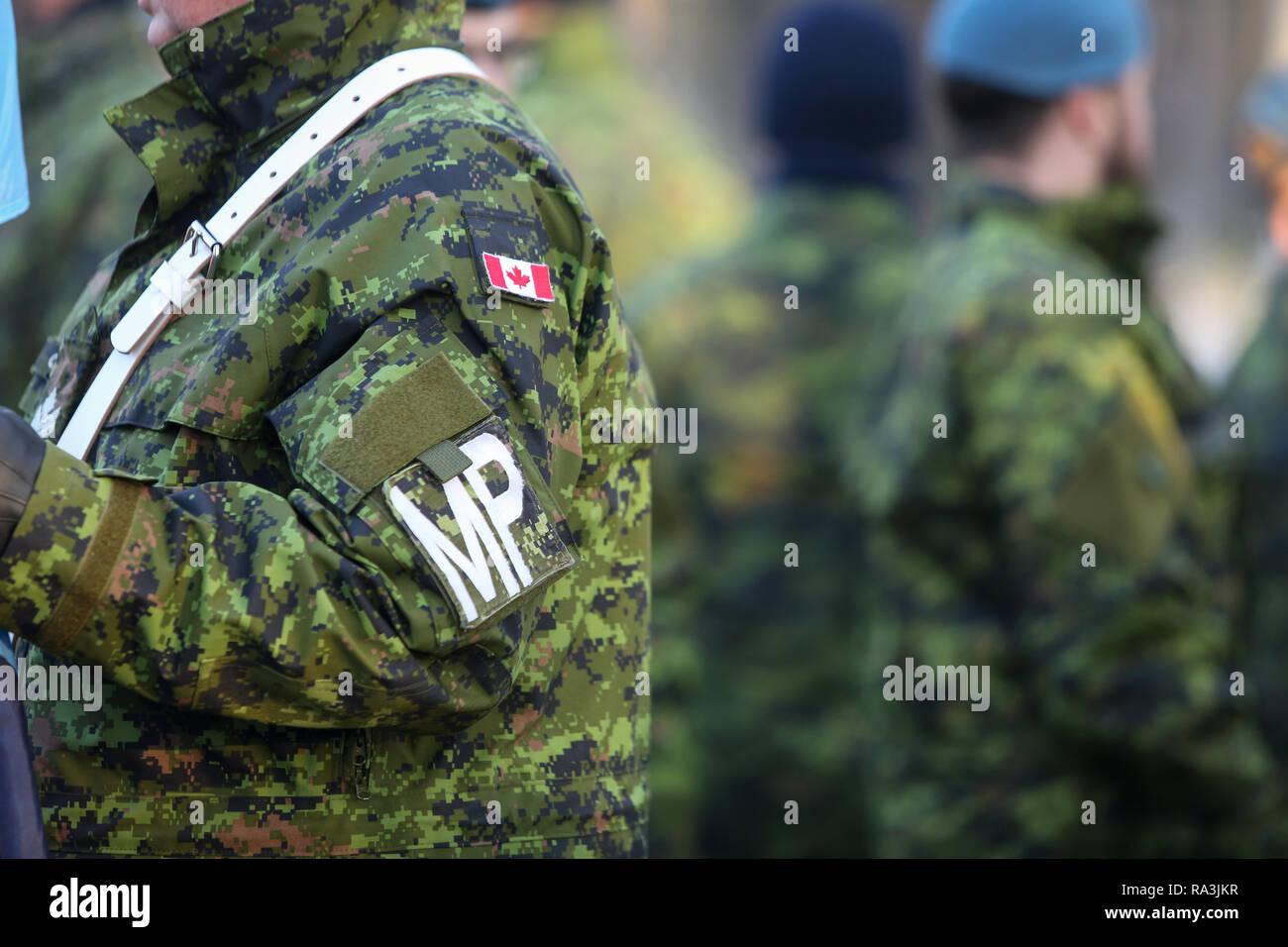risalente al canadese militare