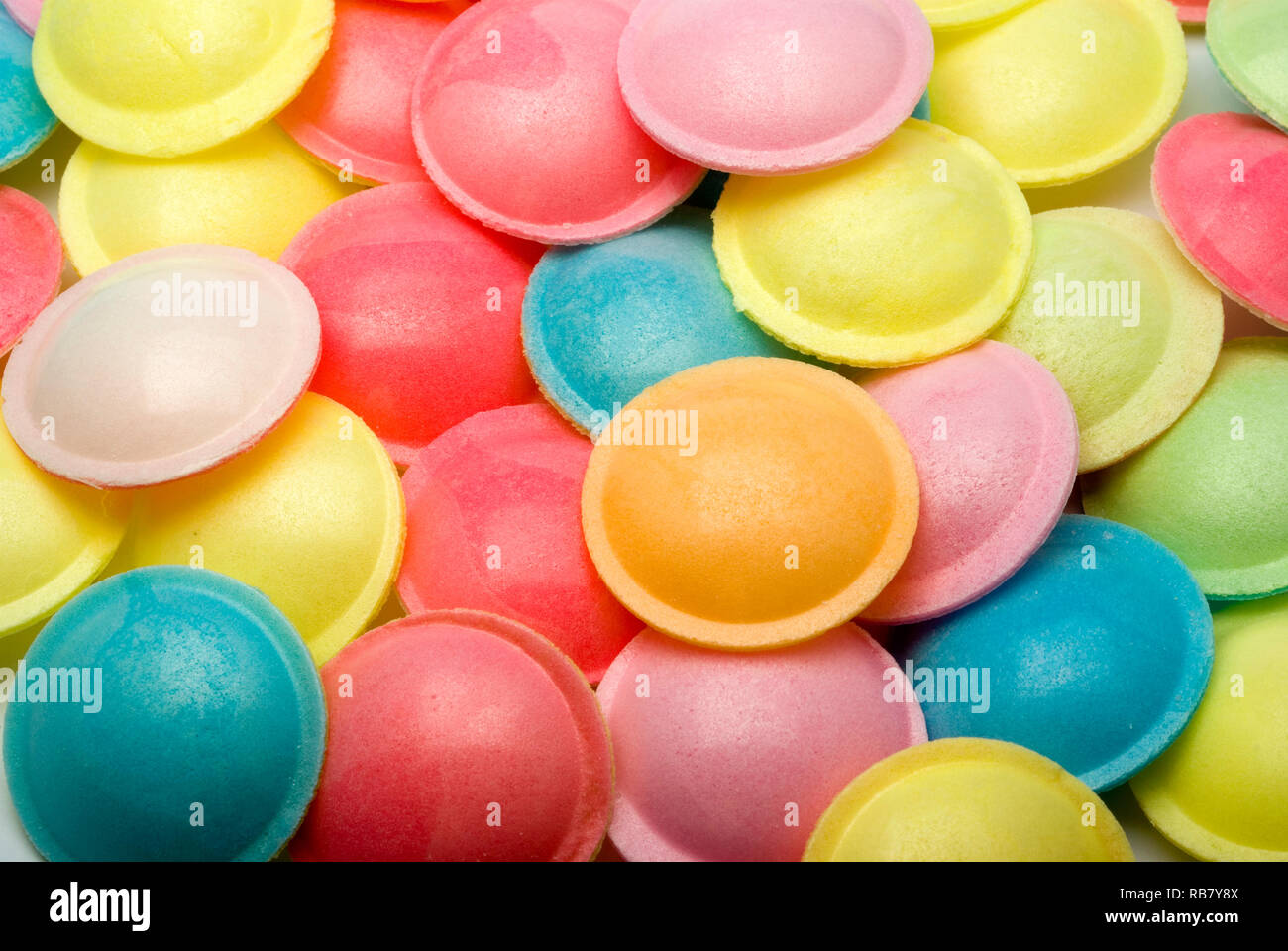 Flying Saucer dolci Foto Stock