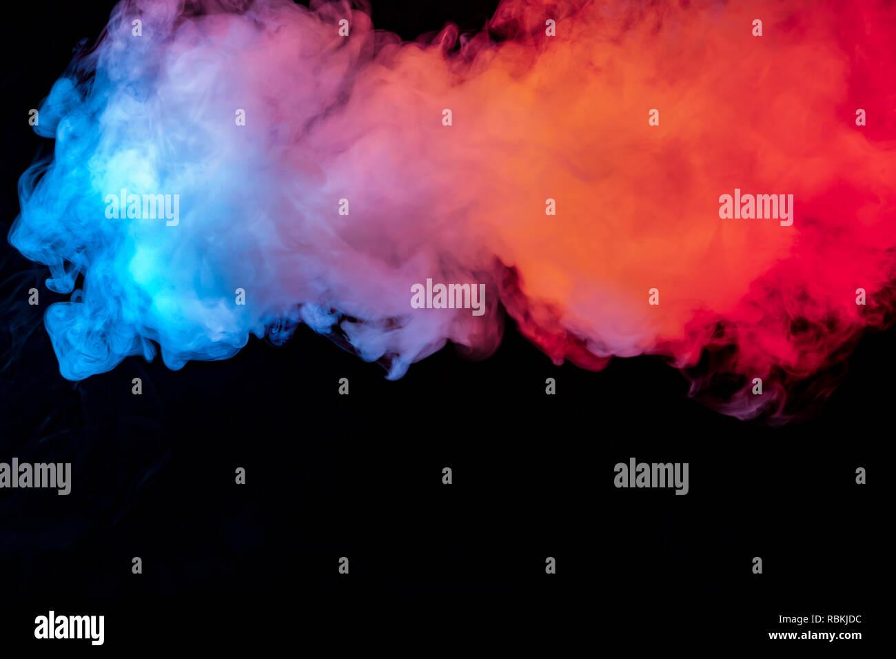 La Bellissima Combinazione Di Colori Di Blu Arancione Viola E
