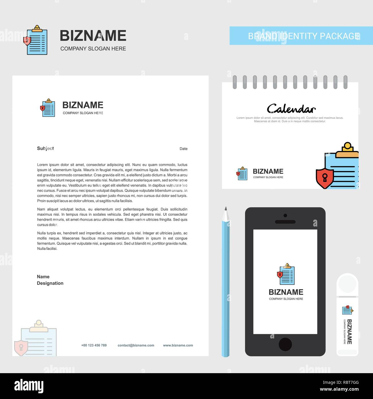 Calendario Per Appunti.Appunti Carta Intestata Aziendale Calendario 2019 E Mobile