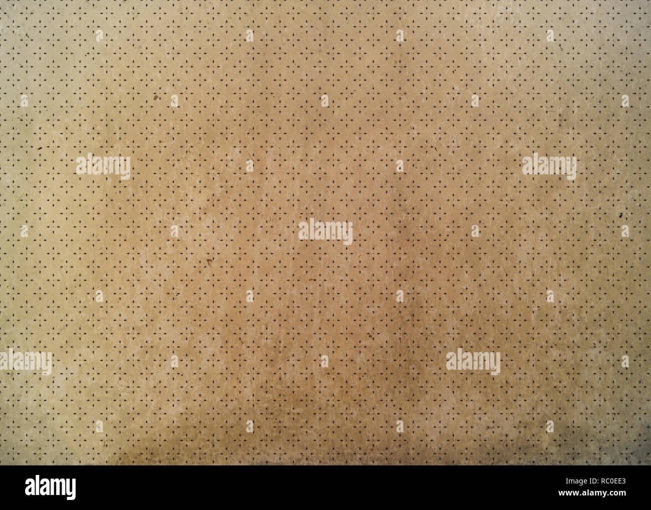 Abstract la configurazione di sfondo sul vecchio grunge background. Forme geometriche. Immagini Stock