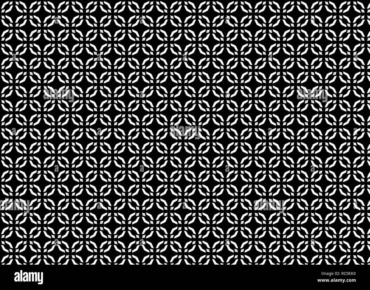 Abstract sfondo nero pattern con forme geometriche. Design moderno Immagini Stock