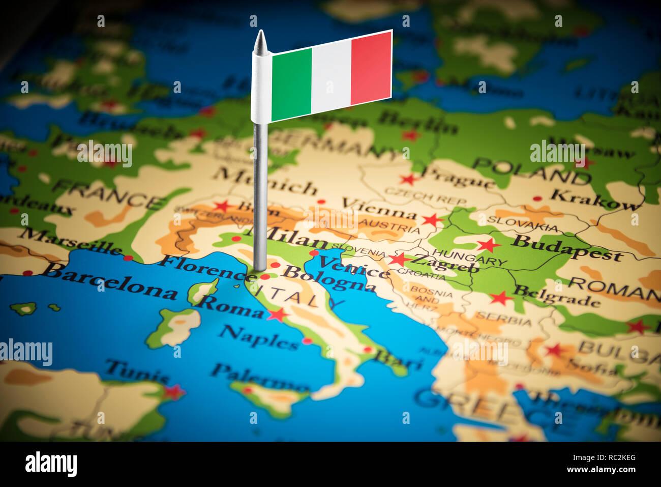 Cartina Italia Politica Modificabile