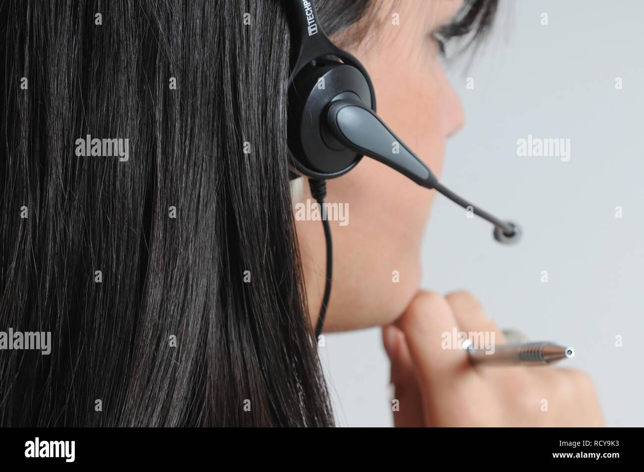 Illustrazione del lavoro: il telelavoro, Francia Immagini Stock