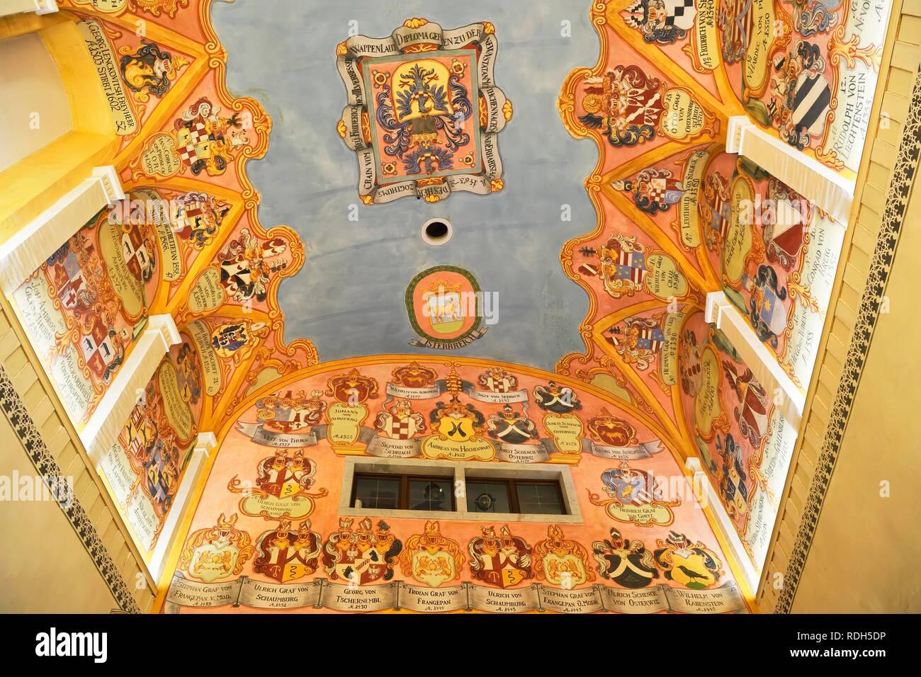 Dipinti Murali E Pittura Ad Ago : Vista interna con pitture murali cappella di san giorgio il