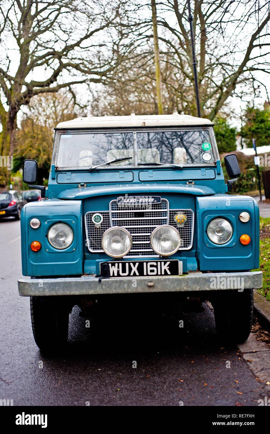 1971 Land Rover Immagini Stock