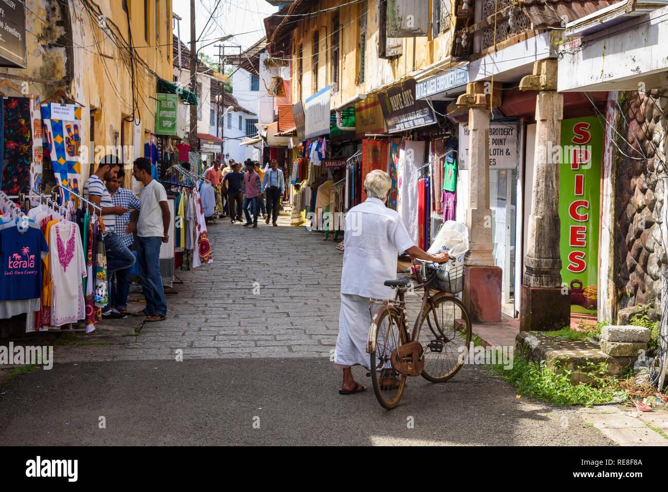 Cochin, Kochi, Kerala, India Immagini Stock