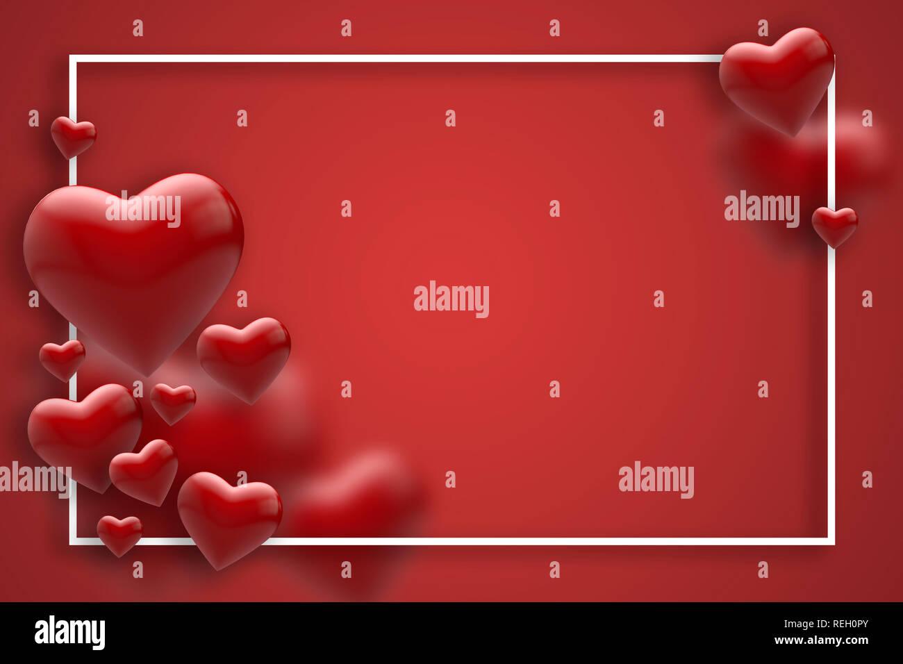 Foto con sfondo rosso