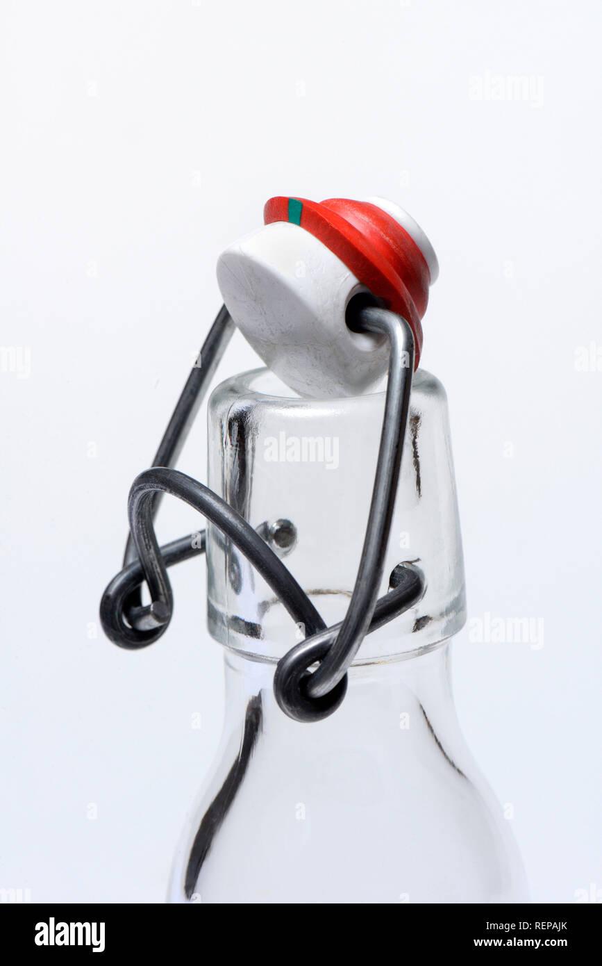 Clip-top bottiglia Immagini Stock