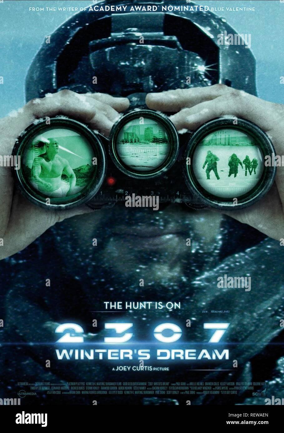Paolo SIDHU POSTER 2307: WINTER'S DREAM (2016) Immagini Stock