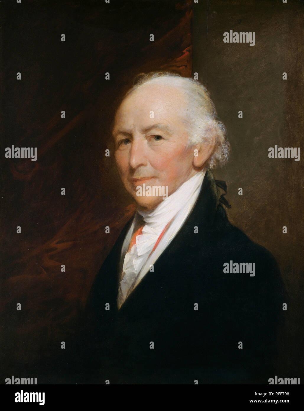 Samuel Alleyne Otis. Data: 1811/1813. Dimensioni: complessivo: 71,6 x 57,8 cm (28 3/16 x 22 3/4 in.) incorniciato: 91,4 x 77,5 x 10,2 cm (36 x 30 1/2 x 4 in.). Medium: Olio su legno. Museo: National Gallery of Art di Washington DC. Autore: Gilbert Stuart. Immagini Stock
