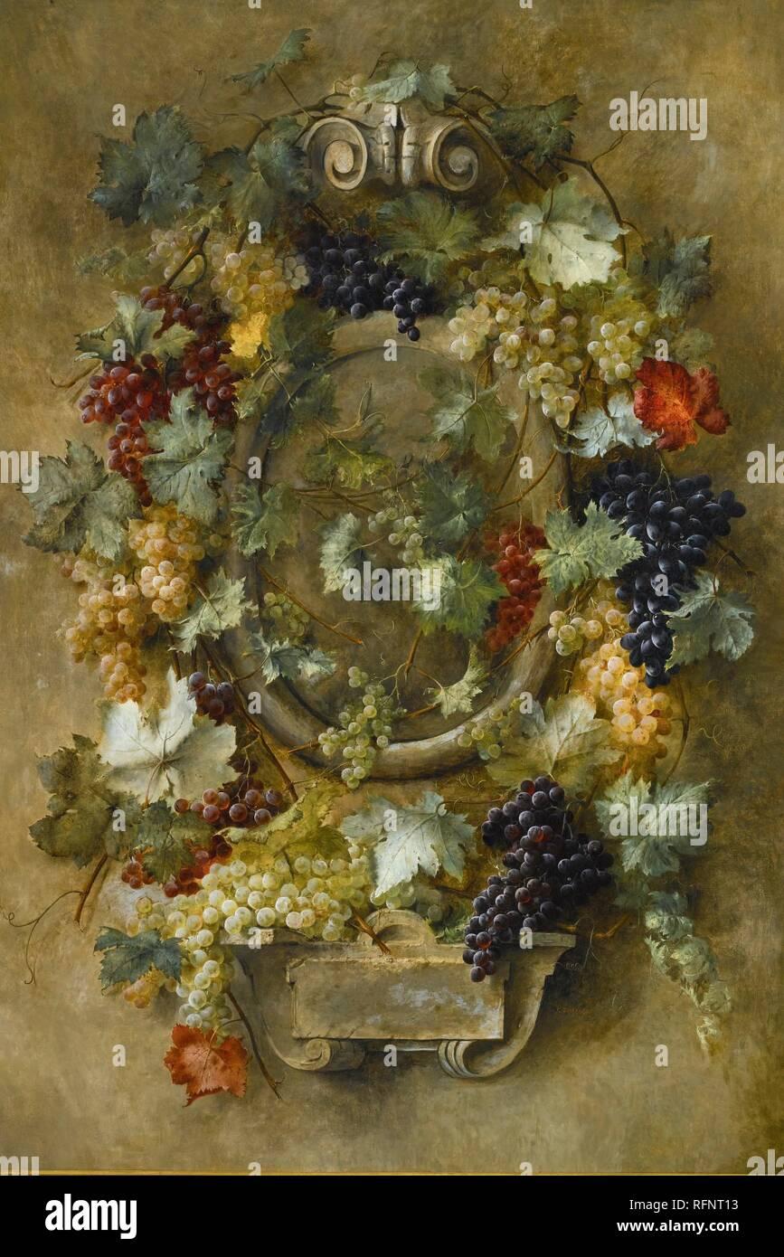 Joseph-Eugne Gilbault 1800 - 1899 COMPOSIZIONE FRANCESE AUX UVETTA DE FRANCE.jpg - RFNT13 Immagini Stock